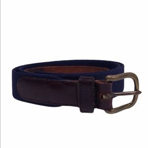 Coach Wool Leather Belt